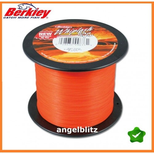 Berkley Whiplash Orange 1800 m / 0,06 mm