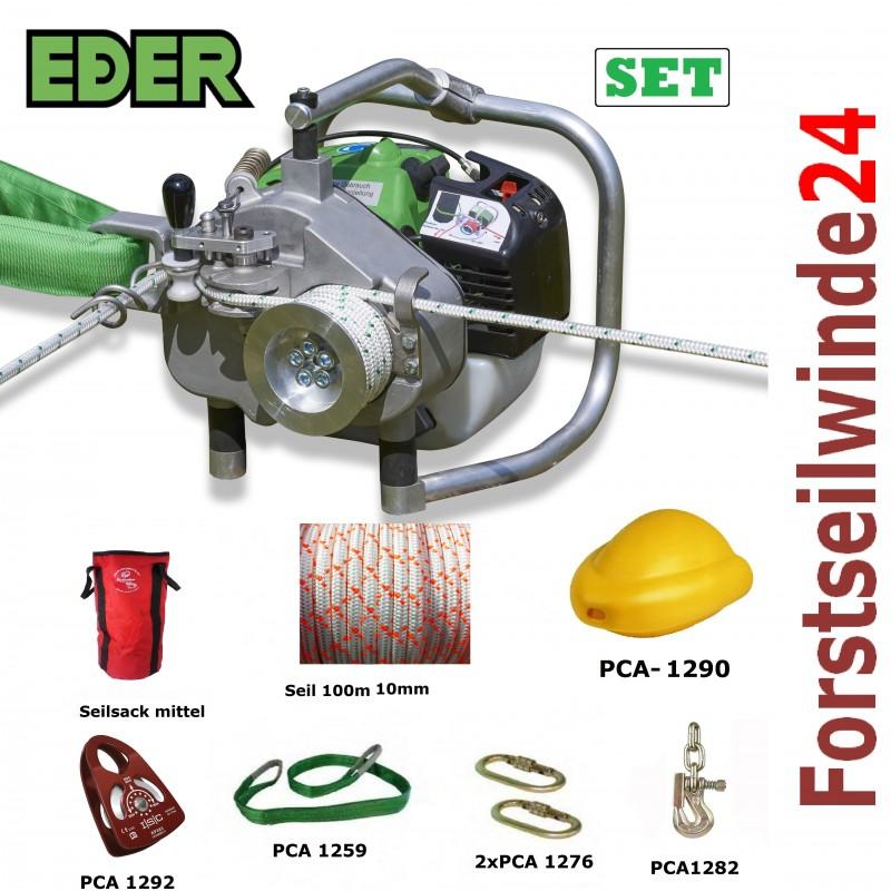 - EDER Spillwinde Powerwinch SET/ ESW 1200, Forstseilwinde