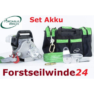 - Portable Winch PCW 3000 LI Akku Winde,tragbar