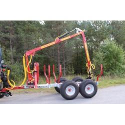 - Rückewagen 4,6t Kranman T4600 + Kran M46