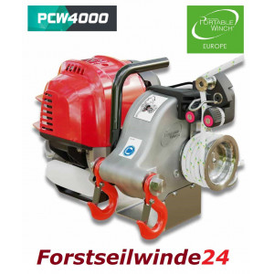 - Forstseilwinde PCW 4000 mit ARM
