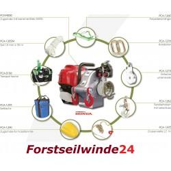 - Forstseilwinde Spillwinde PCW4000 - FORSTWIRTSCHAFTS-KIT /