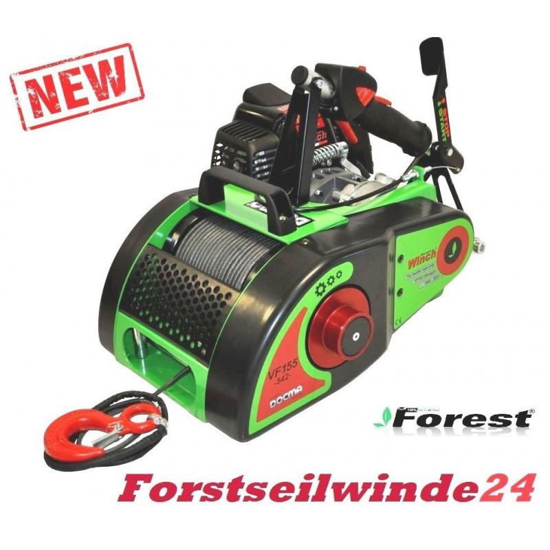 - Forstseilwinde Seilwinde VF 155, Docma Benzinwinde inkl. 80