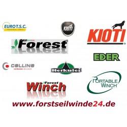 - Forstseilwinde Seilwinde VF 155 Ultralight Automatik inkl.