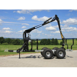 - Rückewagen-Rückanhänger RE 2/4000 mit Forstkran