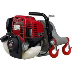 Forstseilwinde, Spillwinde-Seilwinde PCW 3000 Benzinwinde,Motorwinde + 50m Seil