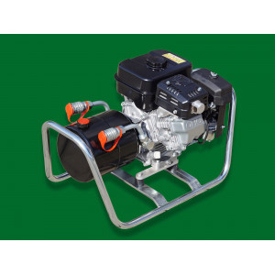 - EDER Hydraulikaggregat EHA 150 mit Benzinmotor