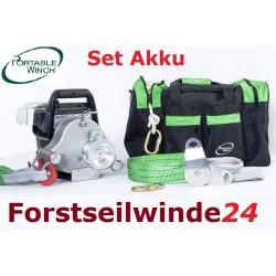 Portable Winch PCW 3000 LI Akku Winde,tragbar