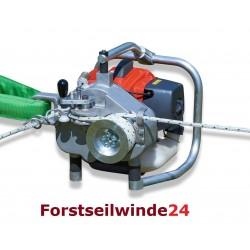 EDER Spillwinde ESW 400, Forstseilwinde, Benzinwinde inkl. 100m Seil
