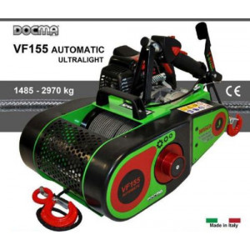 Forstseilwinde Seilwinde VF 155 Ultralight Automatik inkl. 80m Seil Benzinwinde