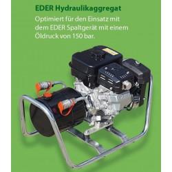EDER Hydraulikaggregat EHA 150 mit Benzinmotor Profi-Qualität Made in Germany